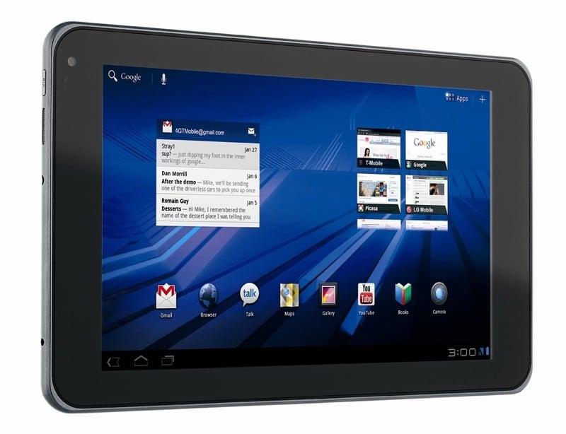 Tabletowo.pl Android 3.1 dla LG G-Slate (Swift Tab) LG Nowości
