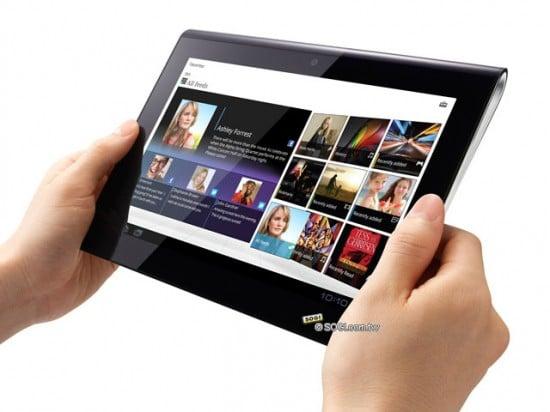 Oficjalne zdjęcia i specyfikacja tabletów Sony S1 i S2 38