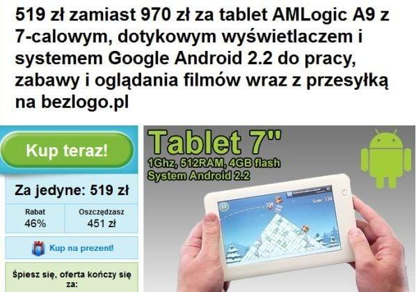 Tabletowo.pl Chcesz kupić tablet? Omijaj Groupon - wcale nie jest taniej Nowości