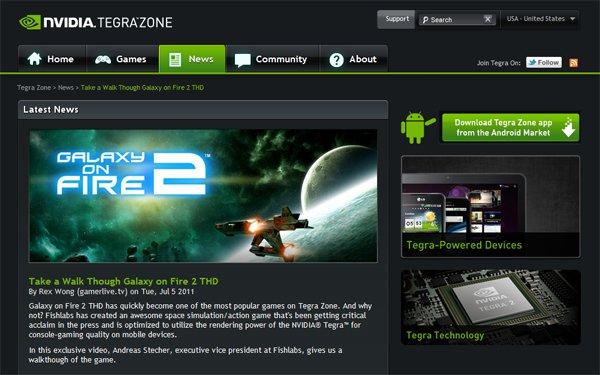 Tabletowo.pl Nvidia otwiera stronę TegraZone.com i aktualizuje aplikację Ciekawostki Nowości