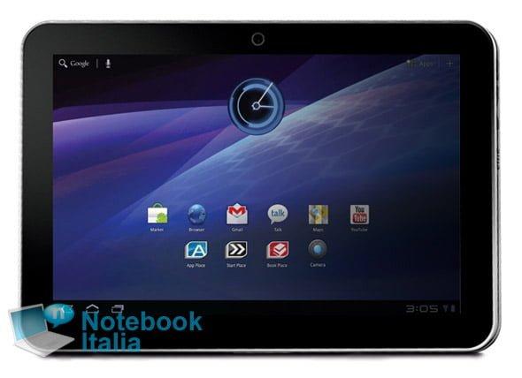 Tabletowo.pl Toshiba szykuje kolejny tablet. Cieńszy od Thrive i z Honeycomb Nowości Plotki / Przecieki Toshiba