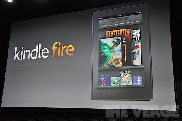 Tabletowo.pl Tablet Amazon Kindle Fire już oficjalnie! Cena: 199 dolarów (wideo) Nowości