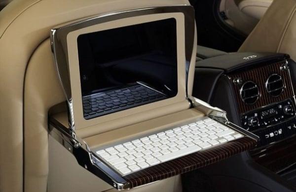 Tabletowo.pl Bentley Mulsanne - multimedialna limuzyna dla fanów Apple Ciekawostki Nowości