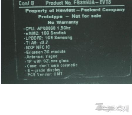 Tabletowo.pl Prototyp 7-calowego tabletu HP Opal na zdjęciach Nowości Plotki / Przecieki