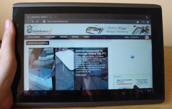 Tabletowo.pl Android 3.2 dla Acera Iconia Tab A500 w październiku Nowości