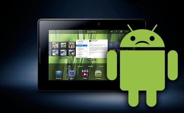 Tabletowo.pl BlackBerry Playbook i Android - bajka bez happy endu Ciekawostki Nowości