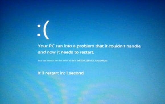 Tabletowo.pl W Windows 8 ujrzymy niebieski ekran śmierci z... :( Ciekawostki Nowości