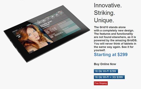 Tabletowo.pl Tablet Fusion Garage Grid 10 200$ taniej. Konsekwencja braku popularności? Nowości