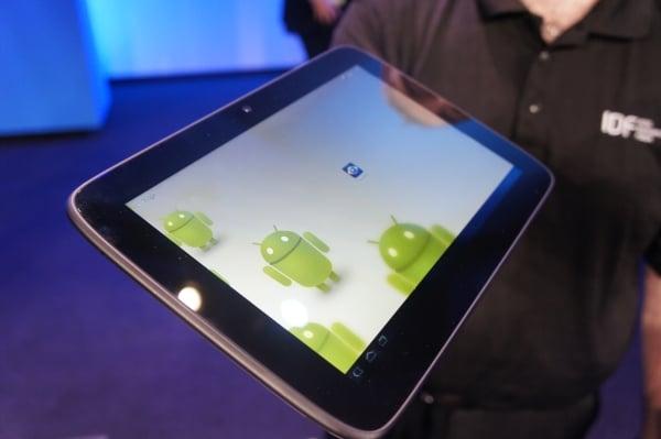 Tabletowo.pl Prototyp tabletu z Medfield na zdjęciach. Intel z poparciem Google w sprawie tabletów z Androidem Nowości