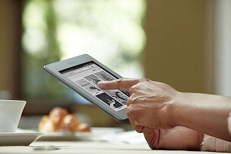 Tabletowo.pl Amazon Kindle Touch - tabletowy czytnik e-booków Ciekawostki Nowości