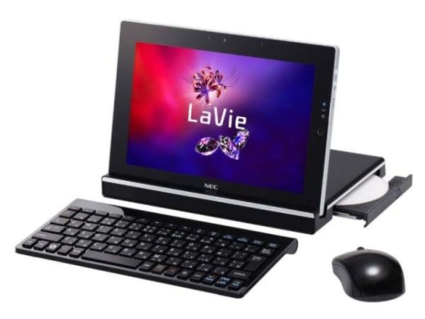 Tabletowo.pl NEC LaVie Touch z ciekawymi akcesoriami - m.in. z zewnętrzną nagrywarką DVD Nowości