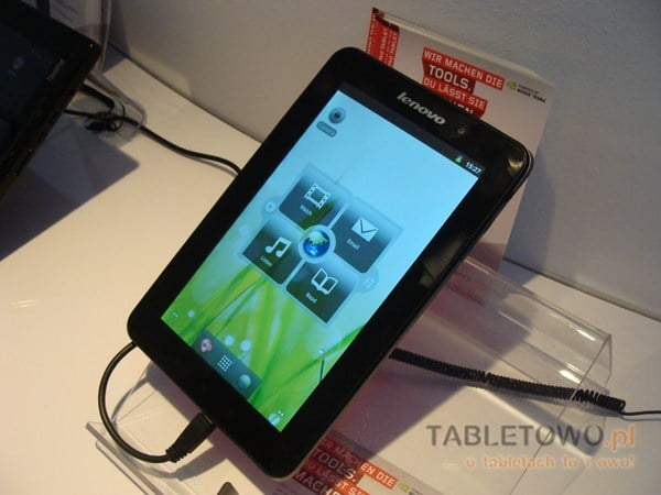 Prezentacja tabletu Lenovo IdeaPad A1 (wideo z IFA 2011)