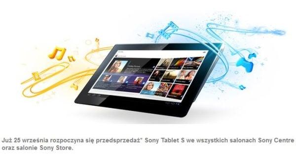 Sony Tablet S - polska przedsprzedaż ruszy 25 września 20