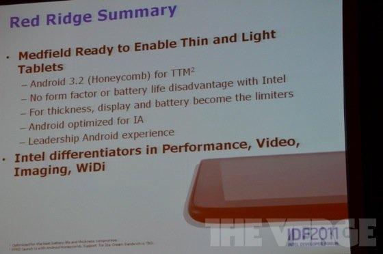 Tabletowo.pl Pierwszy tablet z Medfield (x86) i Androidem w Q1 2012 Nowości