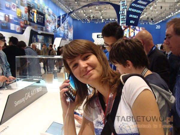 Tabletowo.pl Samsung Galaxy Note w rękach Tabletowo.pl na IFA 2011 (wideo) Nowości