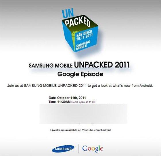 Tabletowo.pl Android Ice Cream Sandwich zadebiutuje 11 października Nowości Plotki / Przecieki Samsung