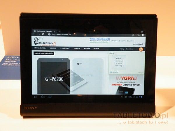 Tabletowo.pl Sony Tablet S trafił do przedsprzedaży. Zainteresowani? Nowości