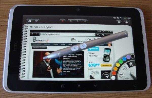 Tabletowo.pl HTC Flyer w końcu może zasmakować plastra miodu Nowości