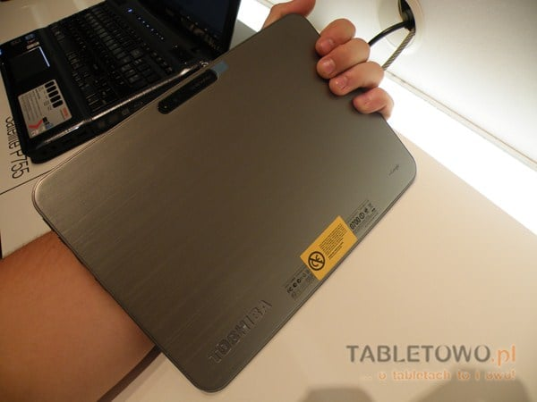 Tabletowo.pl Toshiba AT200 - ciekawy tablet z procesorem TI OMAP (wideo z IFA 2011) Nowości Toshiba