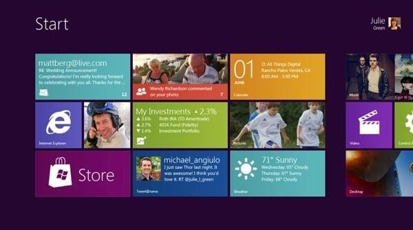 Tabletowo.pl Kilka słów o działaniu systemu Windows 8 Ciekawostki Nowości