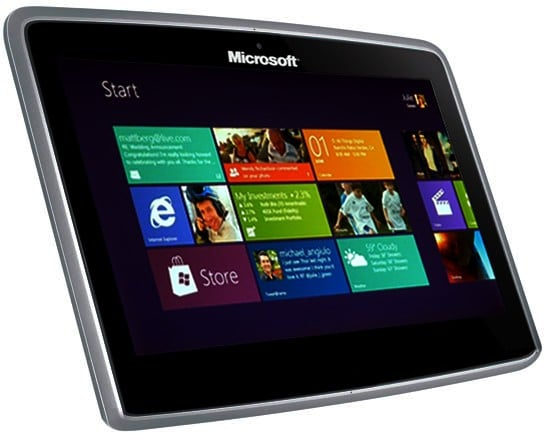 tablet dell windows 8
