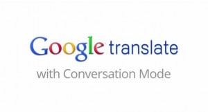 google translate converstaion mode