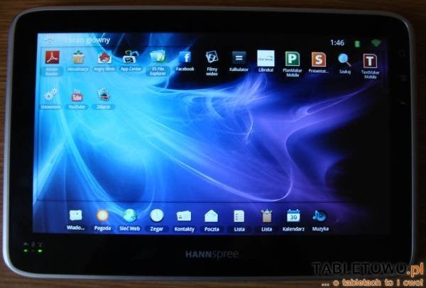 tablet hannspree hannspad test
