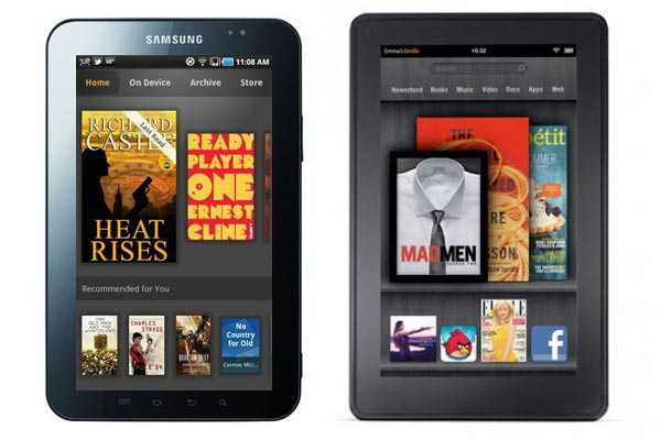 Interfejs Amazon Kindle Fire