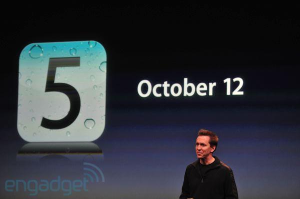 Tabletowo.pl iOS 5 i iCloud już 12 października Apple Ciekawostki Nowości