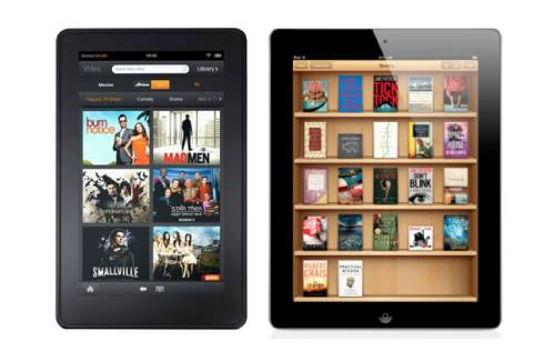 tablet kindle fire vs apple ipad