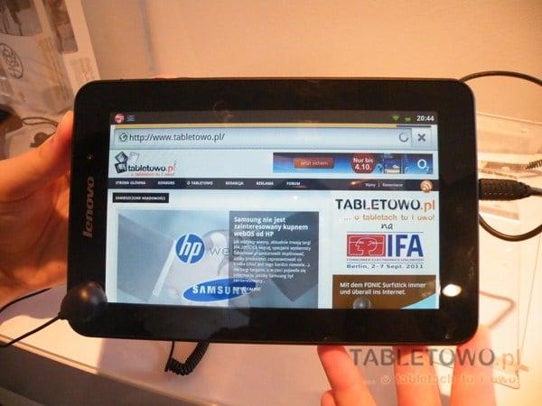 Tabletowo.pl Lenovo IdeaPad A1 nieco droższy niż zapowiadano Nowości