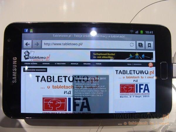 Tabletowo.pl Android Ice Cream Sandwich dla tabletów Samsunga - który się załapie i kiedy? Nowości Samsung