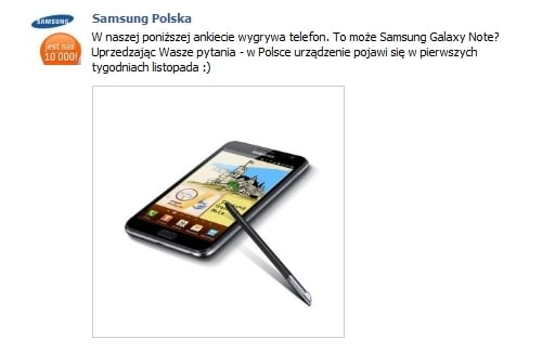 tablet/smartfon samsung galaxy note