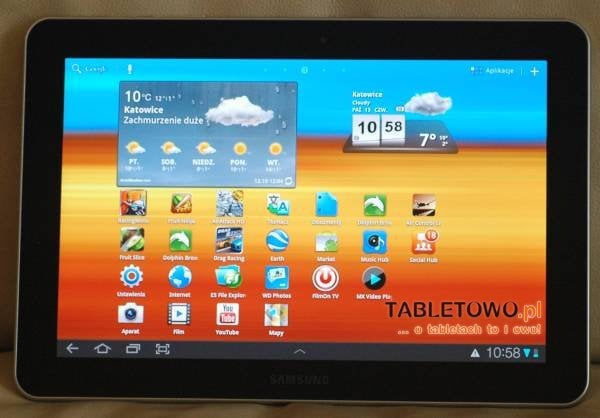 tablet samsung android ice cream sandwich