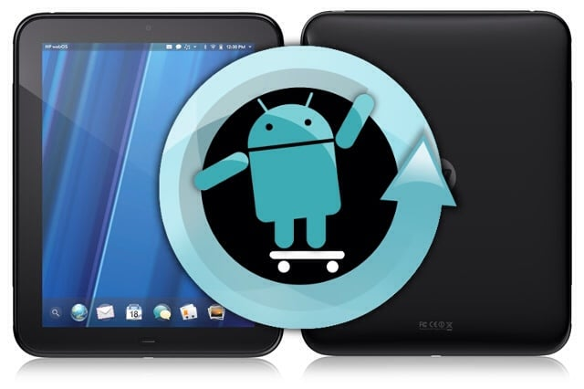 CyanogenMod na HP TouchPad