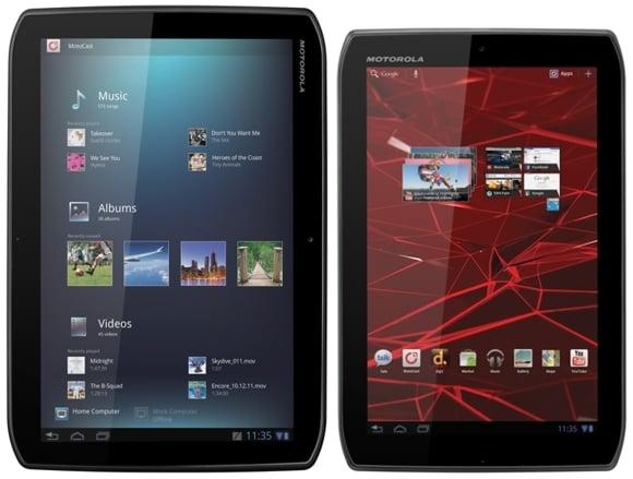 Tabletowo.pl Tablety Motoroli: Xoom 2 i Xoom 2 Media Edition - znamy ceny w funtach i euro Motorola Nowości