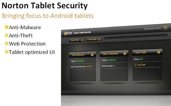 Tabletowo.pl Norton Tablet Security dla tabletów z Androidem w drodze Aplikacje Nowości