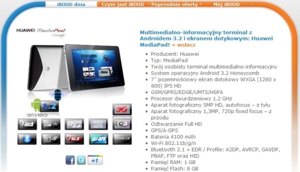 tablet huawei mediapad ibood
