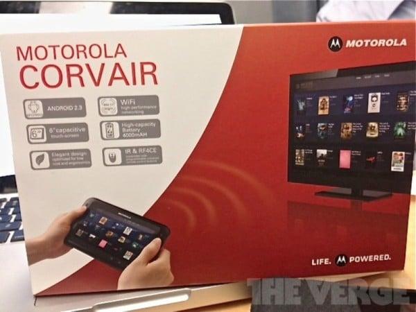 tablet Motorola Corvair