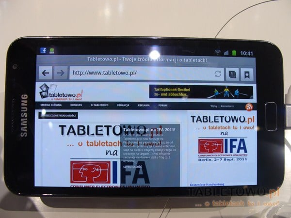 smartfon tablet samsung galaxy note