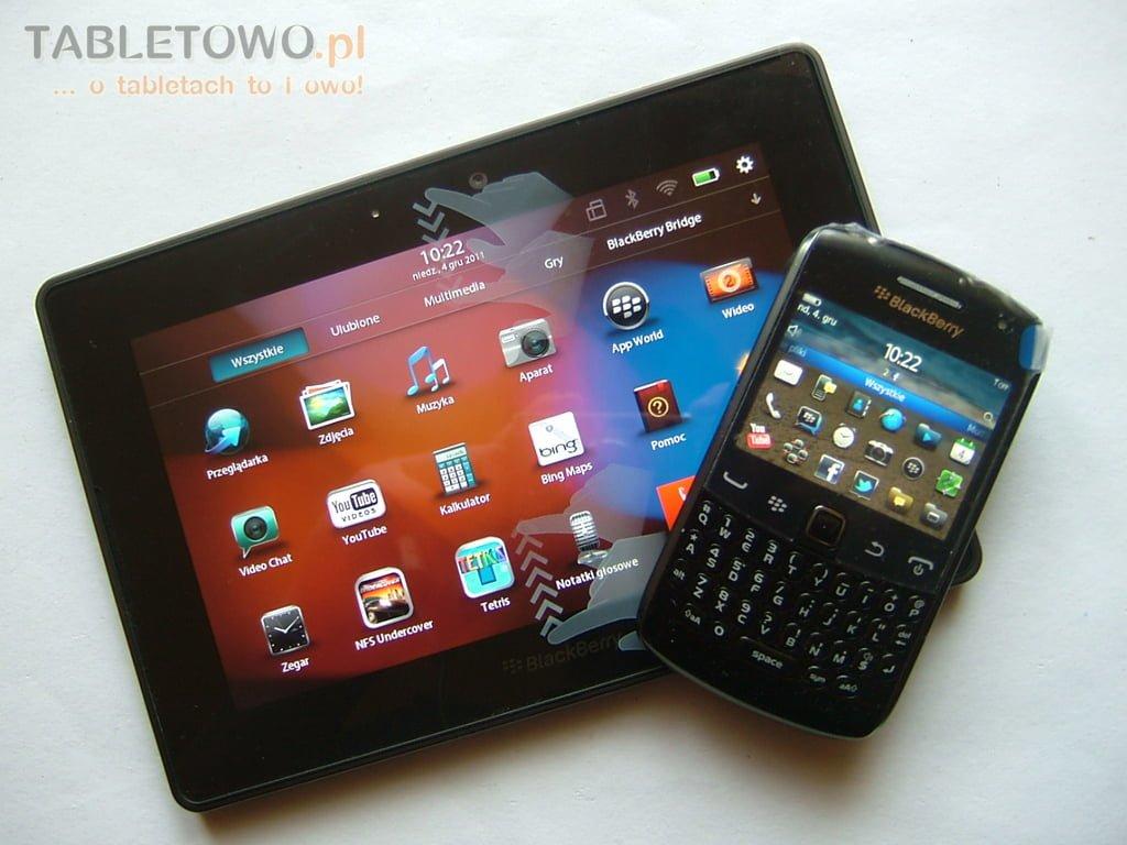 Tabletowo.pl RIM BlackBerry Playbook w rękach Tabletowo.pl. Macie jakieś pytania? Nowości