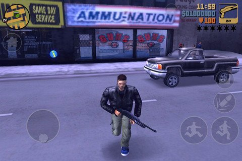 Grand Theft Auto III for Android and IOS Are Seen in a Video