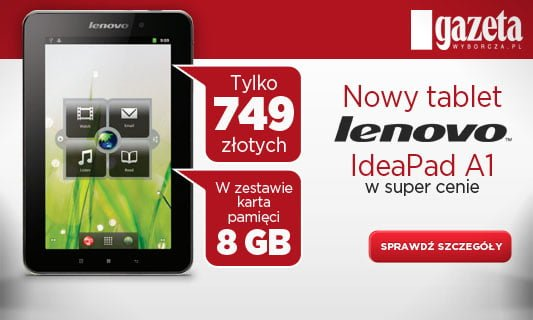 tablet lenovo ideapad a1