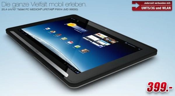 tablet medion lifetab p9514