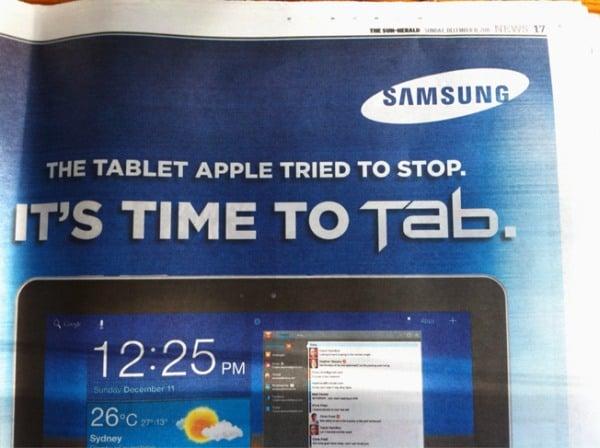 Tabletowo.pl Samsung: sądowe potyczki z Apple przyciągają klientów Nowości Samsung