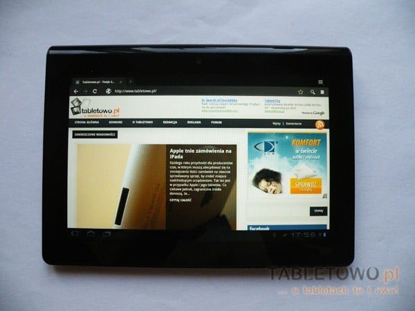 Tabletowo.pl Android 4.0 dla tabletów Sony: S i P w drodze Nowości
