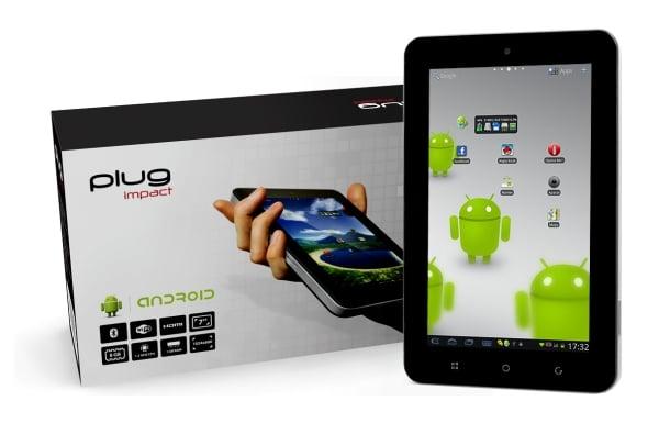 Tabletowo.pl Plug Impact - ciekawy, tani (699 zł), z możliwością aktualizacji do Androida 4.0 (update) Ciekawostki Nowości
