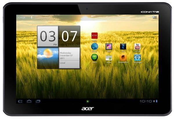 Tabletowo.pl Acer Iconia Tab A200 w sprzedaży w połowie stycznia. Początkowo w USA Nowości