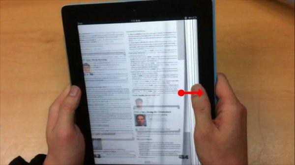 Tabletowo.pl Oto, jak mogłoby wyglądać czytanie książek na iPadzie (wideo) Aplikacje Apple Ciekawostki Nowości