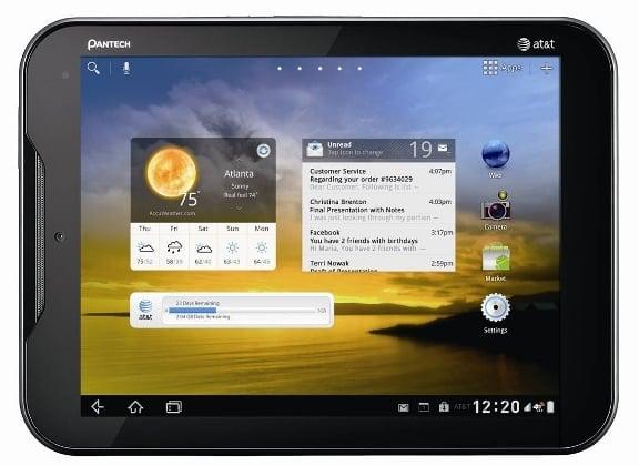Tabletowo.pl Tablet Pantech Element w ofercie AT&T Nowości